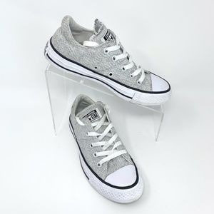 Converse All Star Sneakers Size 5 Light Gray